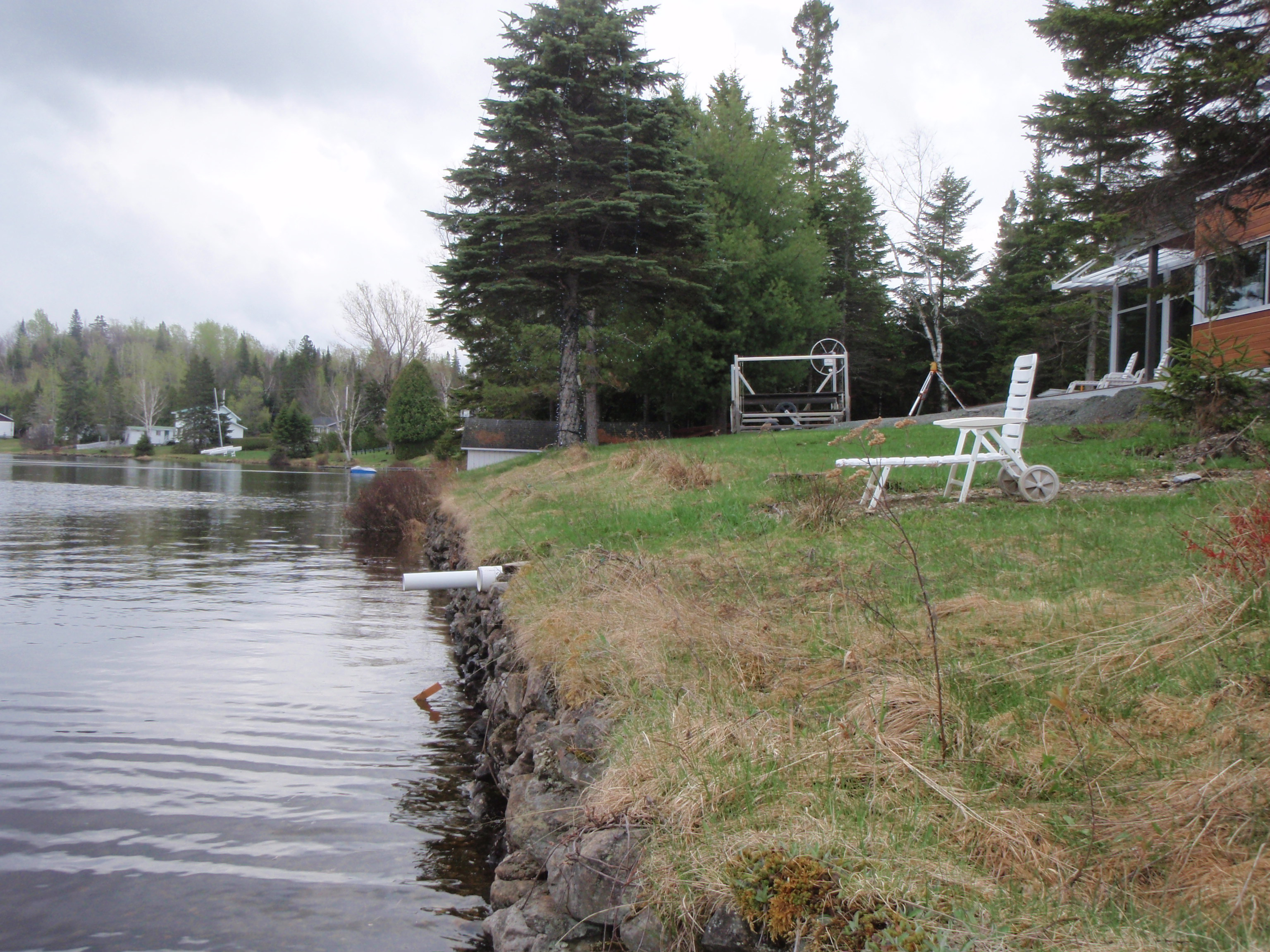 Lac du Huit avant les travaux 1