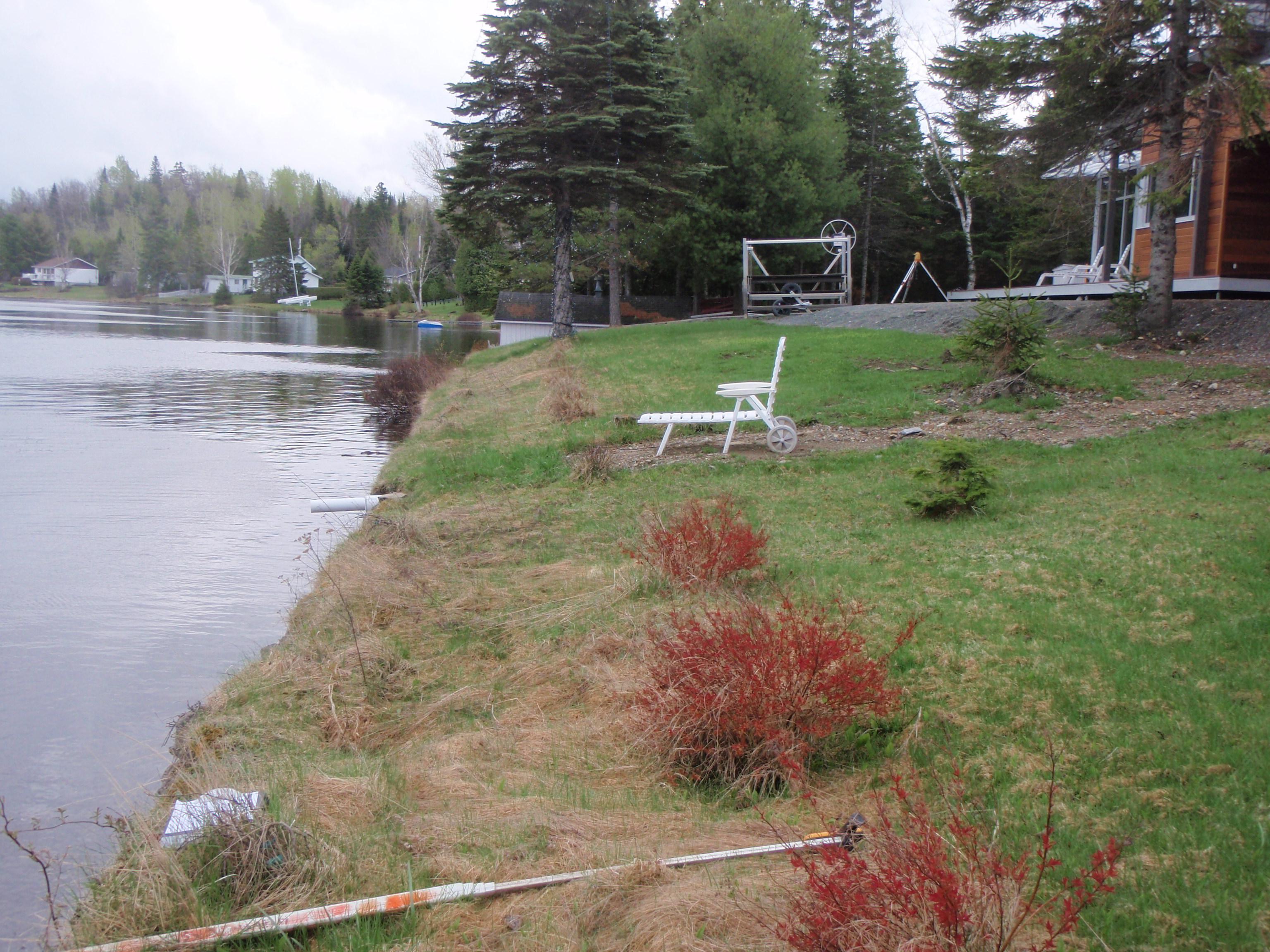 Lac du huit avant les travaux 2