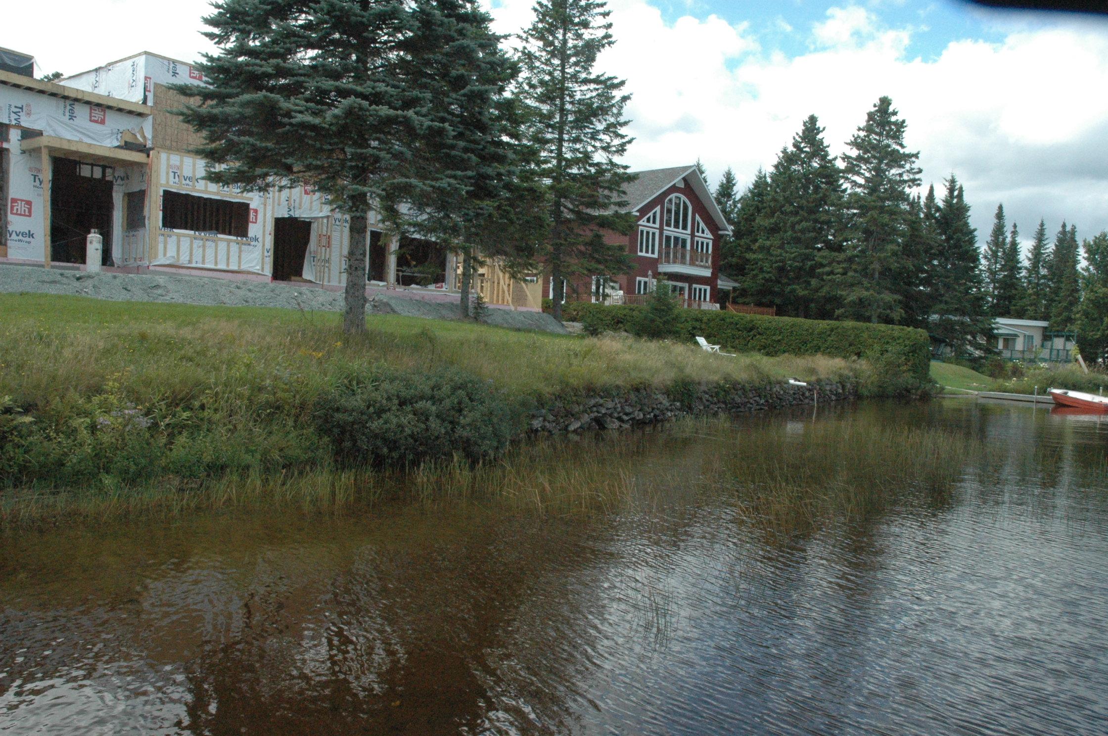 Lac du Huit avant les travaux 3