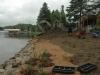 Lac du Huit pendant les travaux 1