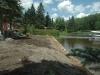 Lac du Huit pendant les travaux 2