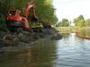 Rivière Noire -Lors des travaux